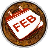 Календарь на Февраль 2017 Года