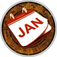 Календарь на Январь 2018 Года