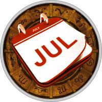Календарь на Июль 2019 Года