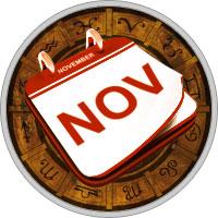 Календарь на Ноябрь 2017 Года