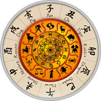 Chinesisches Sternzeichen Kombiniert