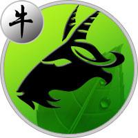 Steinbock Büffel
