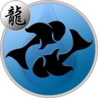 Fische Drache