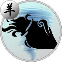 Chinesisches Horoskop 1967. Jahr des Feuer Ziege  Chinesisches Ho...