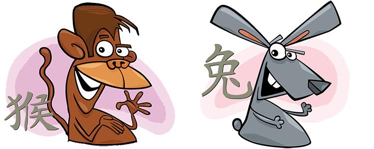 Affe und Hase Partner Horoskop