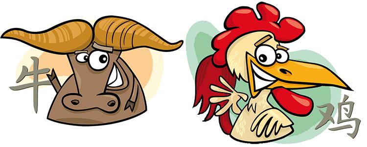 Büffel und Hahn Partner Horoskop