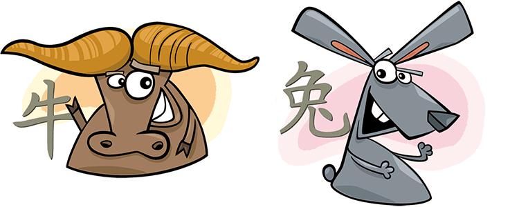 Büffel und Hase Partner Horoskop