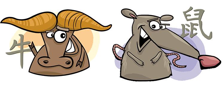 Büffel und Ratte Partner Horoskop