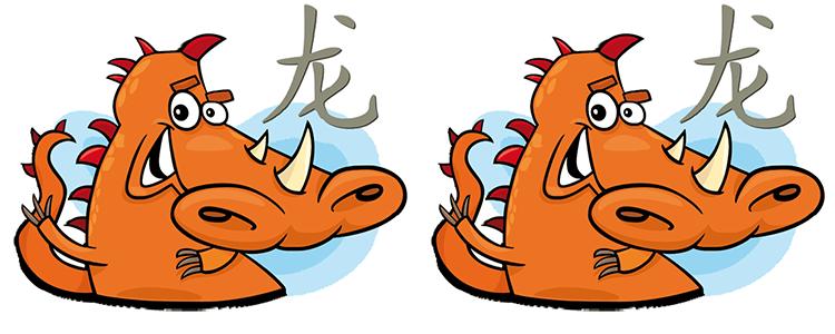 Drache und Drache Partner Horoskop