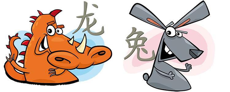 Drache und Hase Partner Horoskop