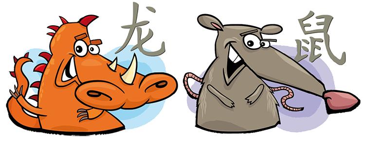 Drache und Ratte Partner Horoskop