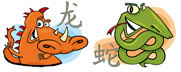 Drache und Schlange Partner Horoskop