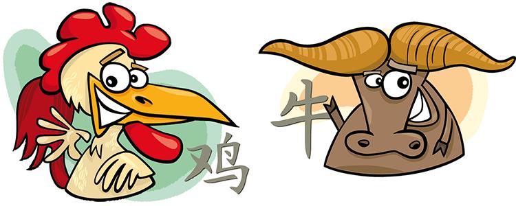 Hahn und Büffel Partner Horoskop