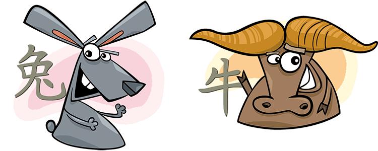 Hase und Büffel Partner Horoskop