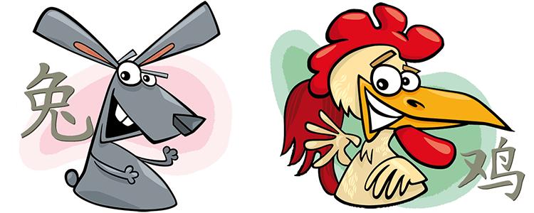Hase und Hahn Partner Horoskop
