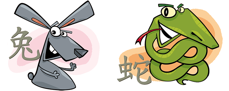Hase und Schlange Partner Horoskop