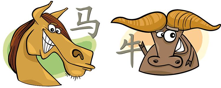 Pferd und Büffel Partner Horoskop
