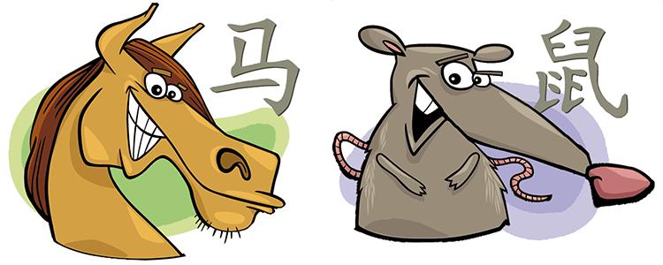 Pferd und Ratte Partner Horoskop