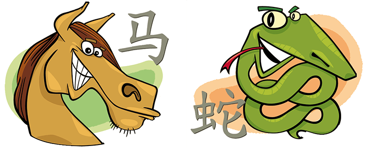 Pferd und Schlange Partner Horoskop