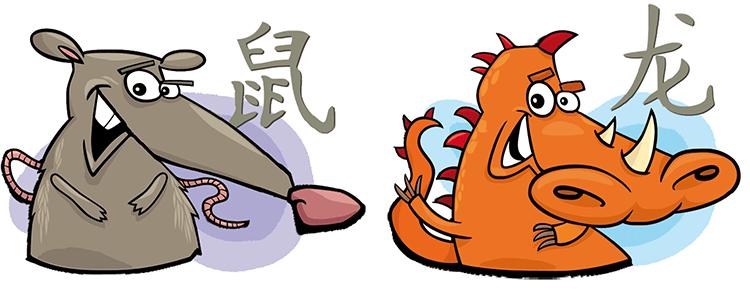 Ratte und Drache Partner Horoskop