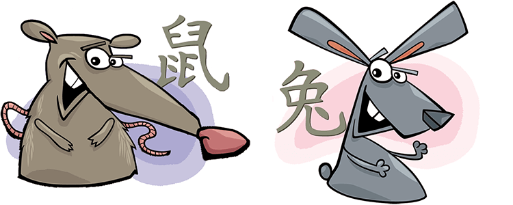 Ratte und Hase Partner Horoskop