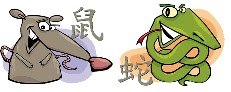Ratte und Schlange Partner Horoskop