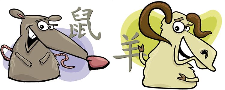 Ratte und Ziege Partner Horoskop