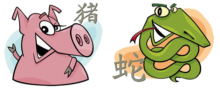 Schwein und Schlange Partner Horoskop
