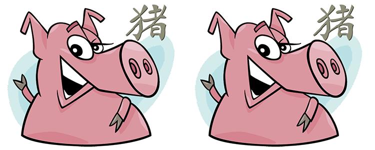 Schwein und Schwein Partner Horoskop