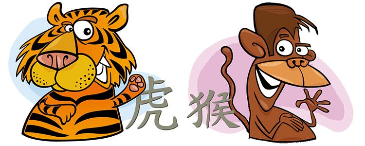 Tiger und Affe Partner Horoskop