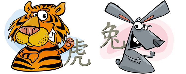 Tiger und Hase Partner Horoskop
