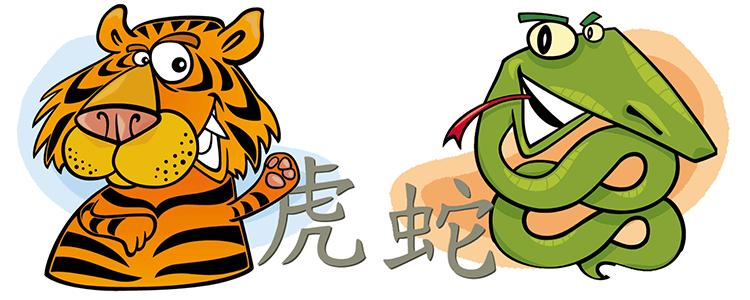 Tiger und Schlange Partner Horoskop