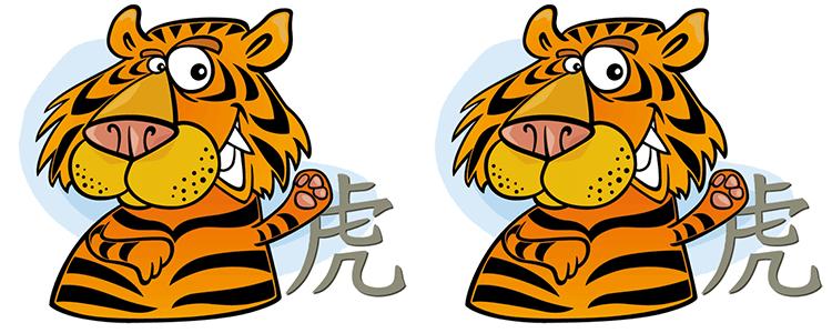 Tiger und Tiger Partner Horoskop
