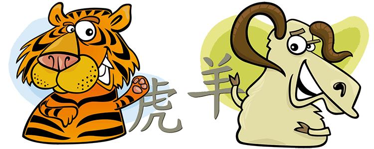 chinesisches sternzeichen tiger und ziege partner. Black Bedroom Furniture Sets. Home Design Ideas