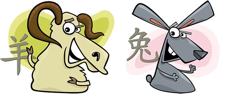 Ziege und Hase Partner Horoskop