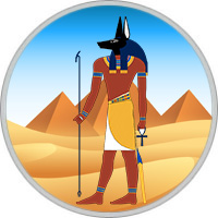 Ägyptisches Horoskop Anubis