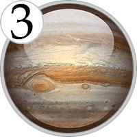 Число Юпитера: 3
