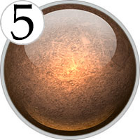 Число Меркурия: 5