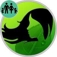 Jungfrau Eltern