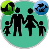 Fische-Kind und Jungfrau-Elternteil