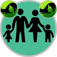 Jungfrau-Kind und Jungfrau-Elternteil