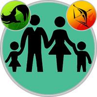 Schütze-Kind und Jungfrau-Elternteil