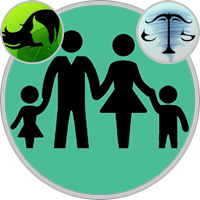 Waage-Kind und Jungfrau-Elternteil