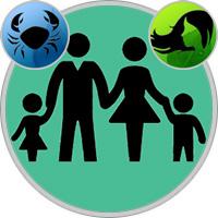 Jungfrau-Kind und Krebs-Elternteil