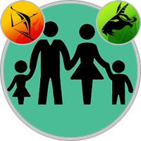 Steinbock-Kind und Schütze-Elternteil