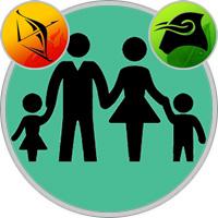 Stier-Kind und Schütze-Elternteil