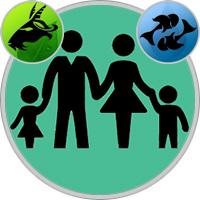 Fische-Kind und Steinbock-Elternteil
