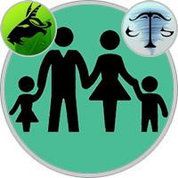 Waage-Kind und Steinbock-Elternteil