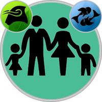Fische-Kind und Stier-Elternteil