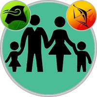 Schütze-Kind und Stier-Elternteil